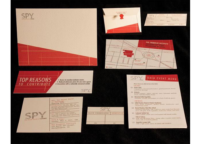 Spy: The Secret World of Espionage Invitation Series by Bryanne McMillen Designs