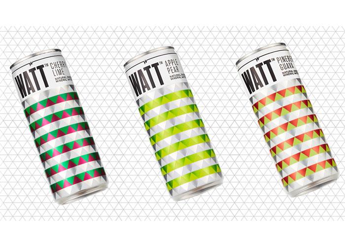 WATT Energy Drink Branding and Identity by Alchemy Branding Group