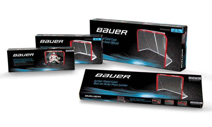 BAUER Street Hockey Packaging by BAKER Brand Design