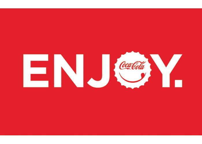 Coca-Cola Enjoy Logo by Coca-Cola Studios