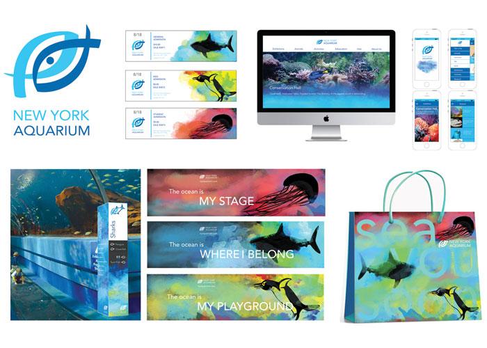 New York Aquarium Rebranding by Pratt Institute