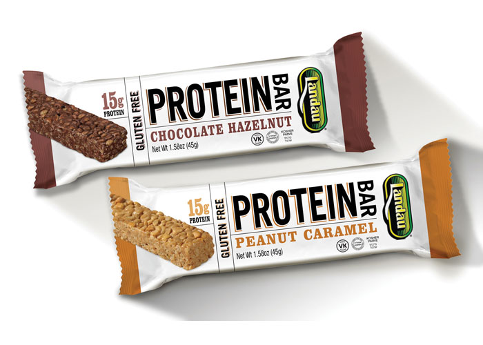 Landau Protein Bars by Dot Matrix Design Group