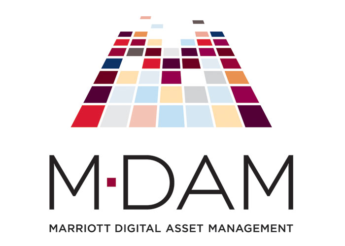 Marriott Digital Asset Management Logo by Dulin Design LLC