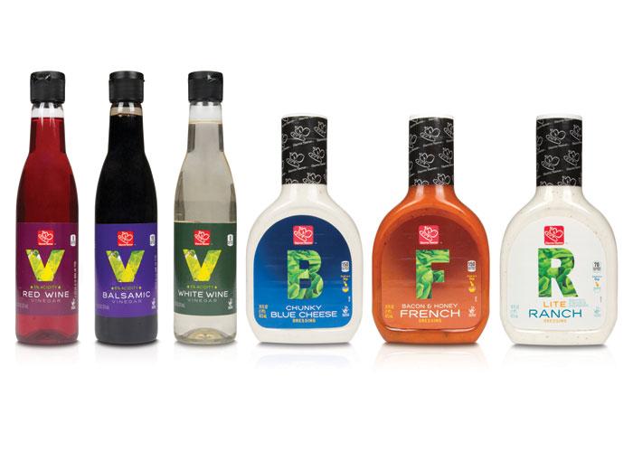 HT Vinegar & Dressings Branding by Galileo Global Branding Group