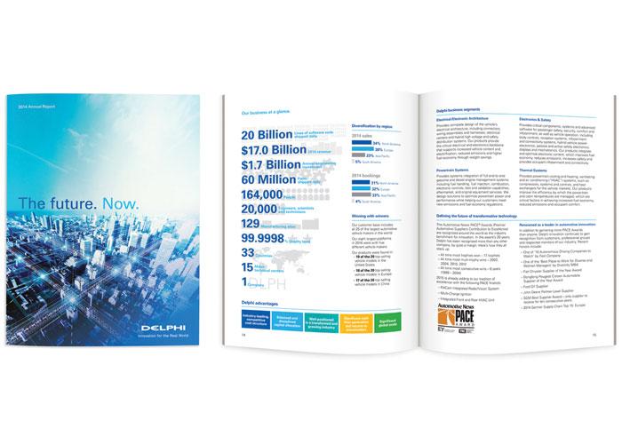 2014 Delphi Annual Report by Imagination