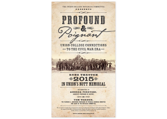Civil War Exhibition Poster by 2k Design
