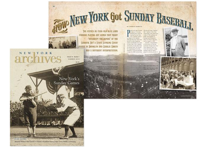 New York Archives Magazine, Summer 2014 by 2k Design