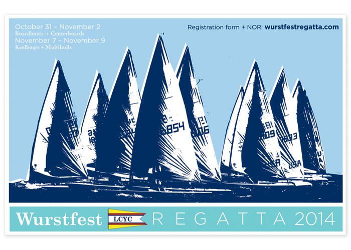 Wurstfest Regatta 2014 Announcement by ROESCHMANNdesign