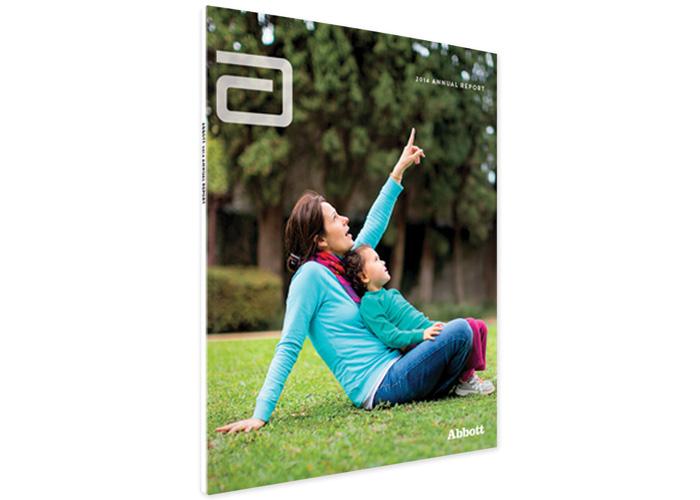 Abbott 2014 Annual Report by Ted Stoik / Woz Design / Hartford Design