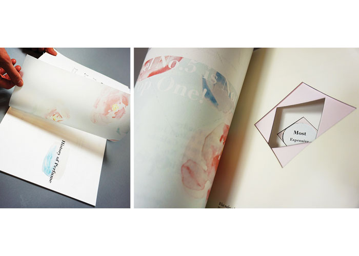 Tresor De Senteur Perfume Book by Xinyi Yao