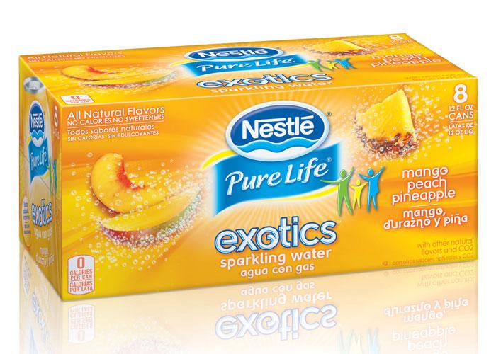 Nestlé Pure Life Exotics by Cornerstone Strategic Branding