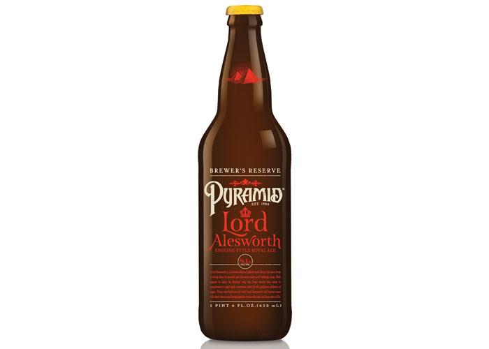 Pyramid - Lord Alesworth Ale by Cornerstone Strategic Branding