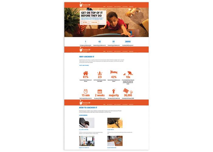 CPSC AnchorIt Website by Finn Partners