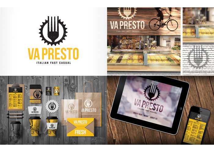 Va Presto Branding by Fuzion Design