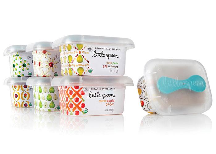 Little Spoon Organic Packaging by Little Big Brands