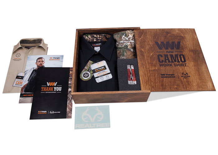 Wrangler Workwear Camo Launch Kit by VF Imagewear