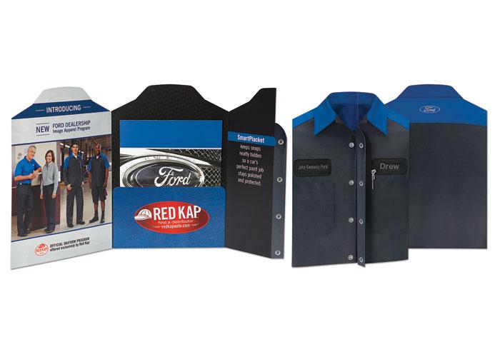 Ford Dealership Apparel Launch Folder by VF Imagewear