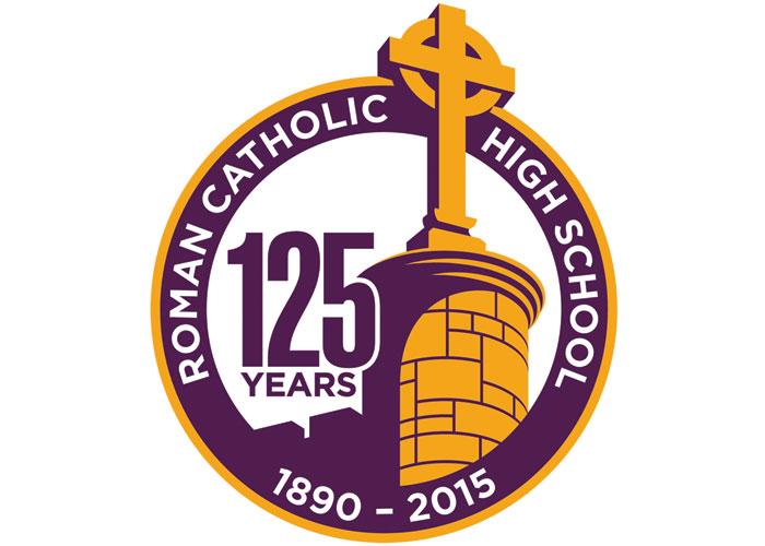125th Anniversary Logo by Gene Burns Graphic Design