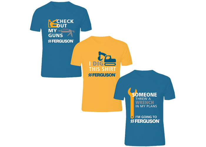 Promotional T-Shirts for Ferguson Counters