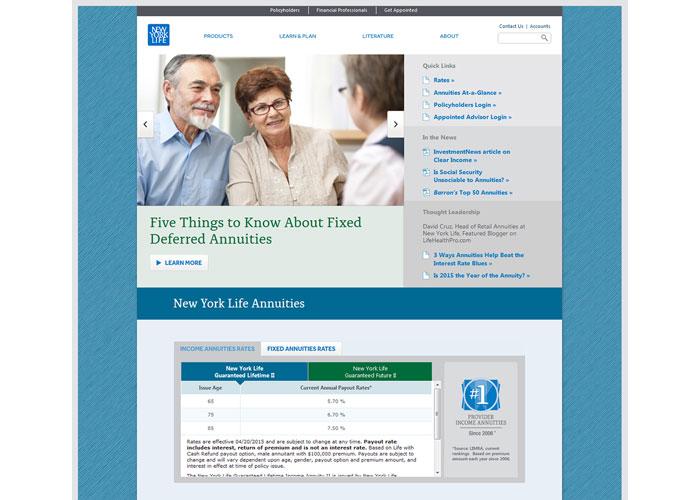 New York Life Annuities Website