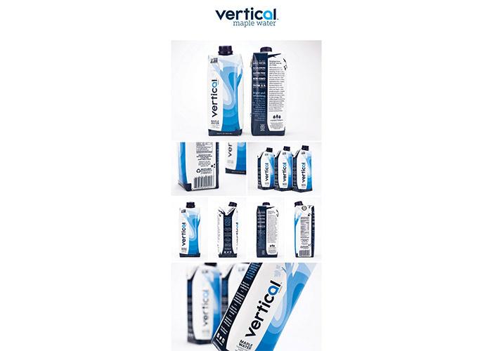 Vertical Water Packaging by Brigade