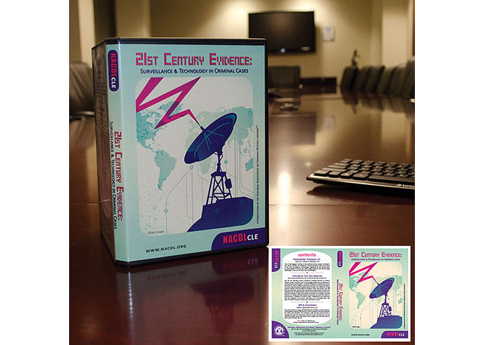 NACDL CLE 21st Century Evidence DVD Package Cover by National Association of Criminal Defense Lawyers (NACDL)