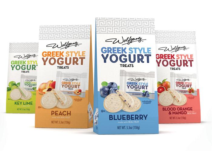 Greek Yogurt Treats Packaging