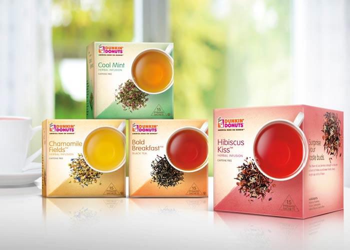 Dunkin' Donuts Premium Tea by LAM Design