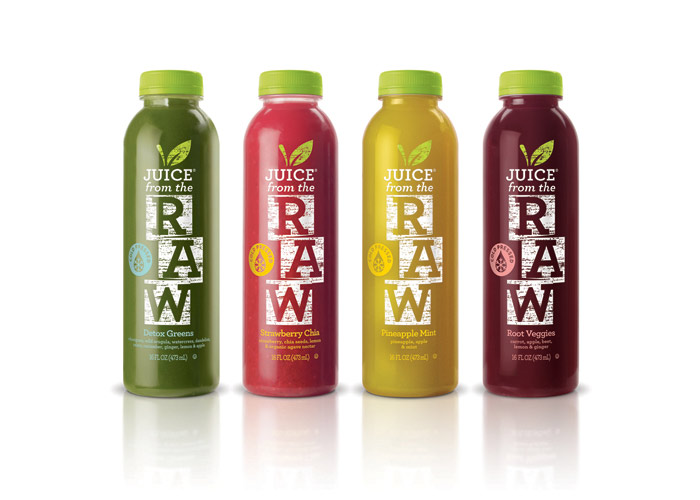 Juice From The Raw by Ceradini Brand Design