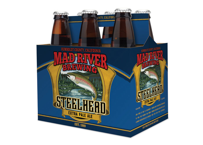 Steelhead Extra Pale Ale by Consumer Product Branding