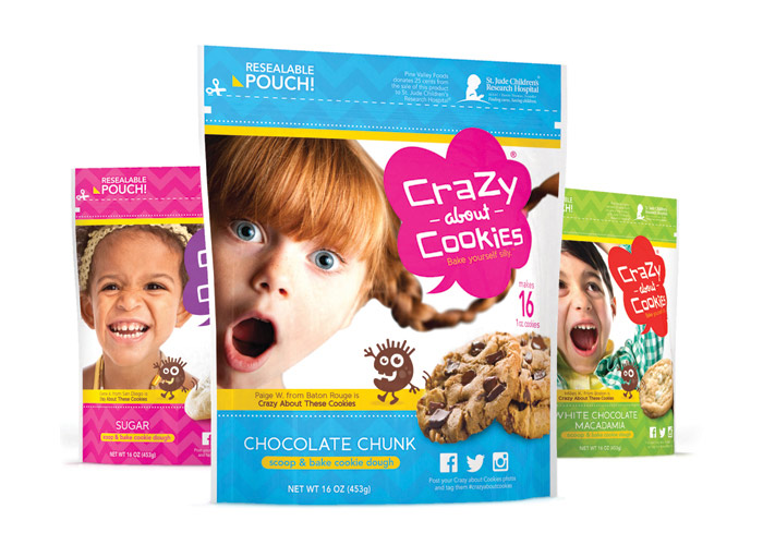 Crazy About Cookies Packaging by WFM