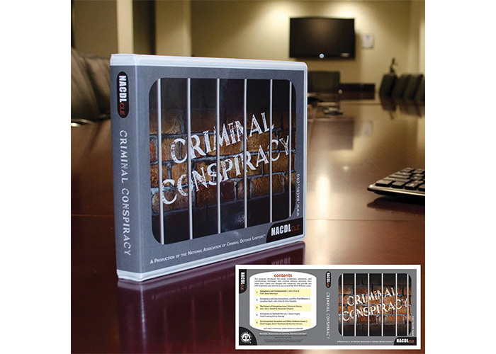 NACDL CLE Criminal Conspiracy DVD Package Cover by National Association of Criminal Defense Lawyers (NACDL)