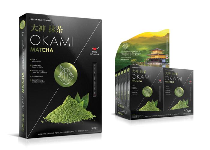Okami Matcha Green Tea Powder by Designer and Gentleman Client:Invitto