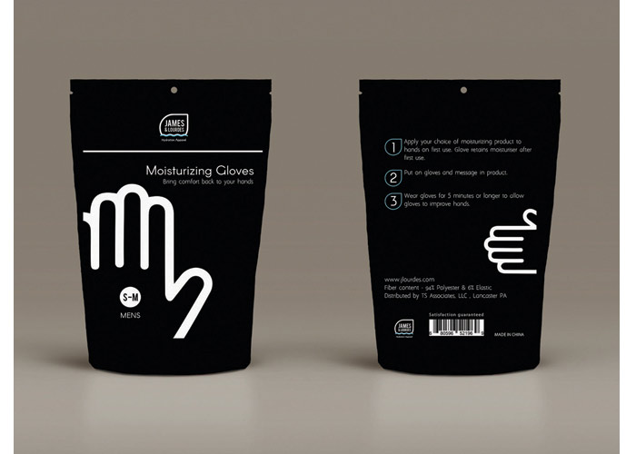 James & Lourdes Glove Packaging by Pennsylvania College of Art and Design