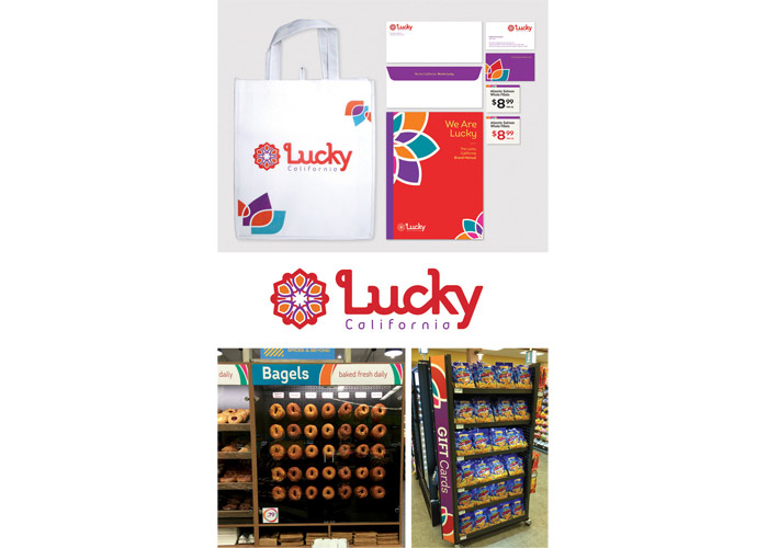 Lucky California Branding
