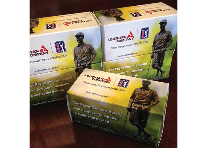Southern Company Payne Stewart Award Golf Ball Sleeve