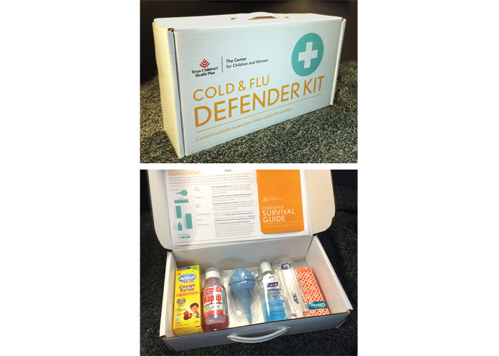 Cold & Flu Defender Kit by Texas Children's Health Plan