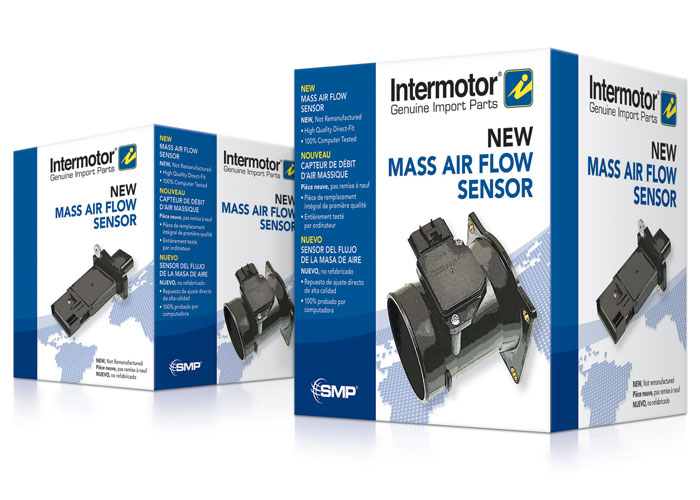 Intermotor Trilingual MAF Sensors Packaging