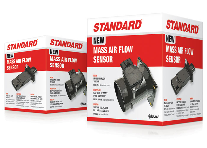 Standard Trilingual MAF Sensors Packaging Cartons