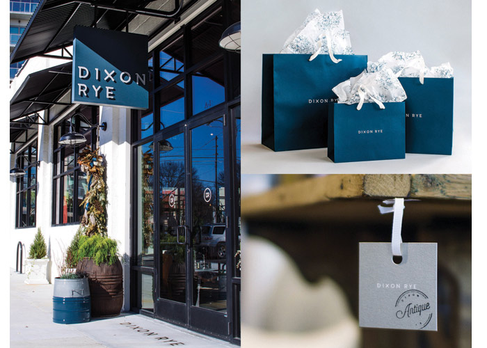 Dixon Rye Store Identity by Russell Shaw Design