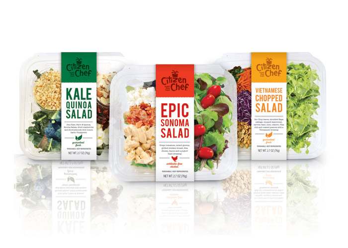 Citizen Chef Premium Salads by Sloat Design Group