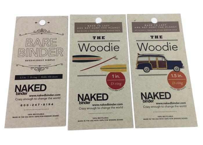 Woodie Hangtag by Naked Binder Hang Tags