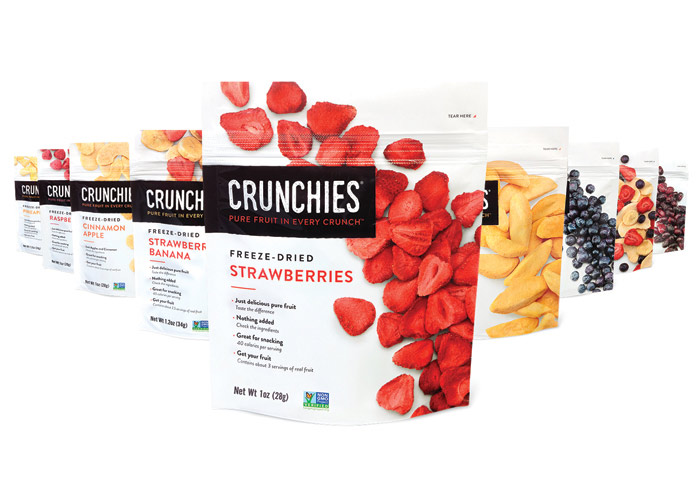 Crunchies Packaging by MJR Creative Group