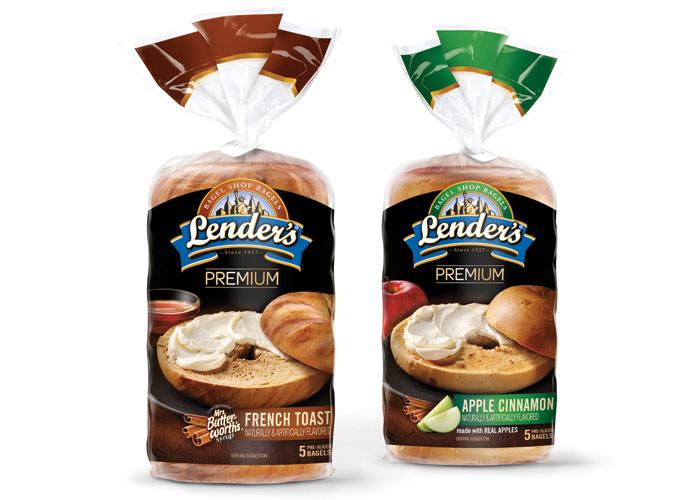 Lenders Premium Bagels by LAM Design