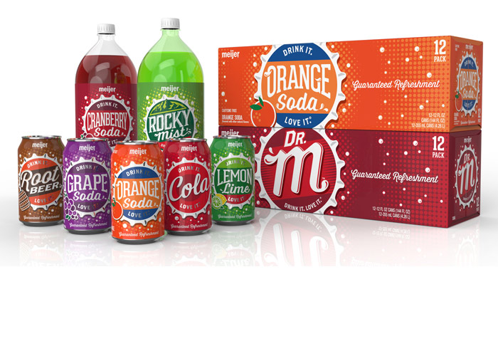 Meijer Carbonated Soft Drinks by Coho Creative