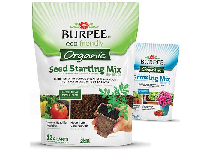 Burpee® Organic Soils by Brian Schultz Design