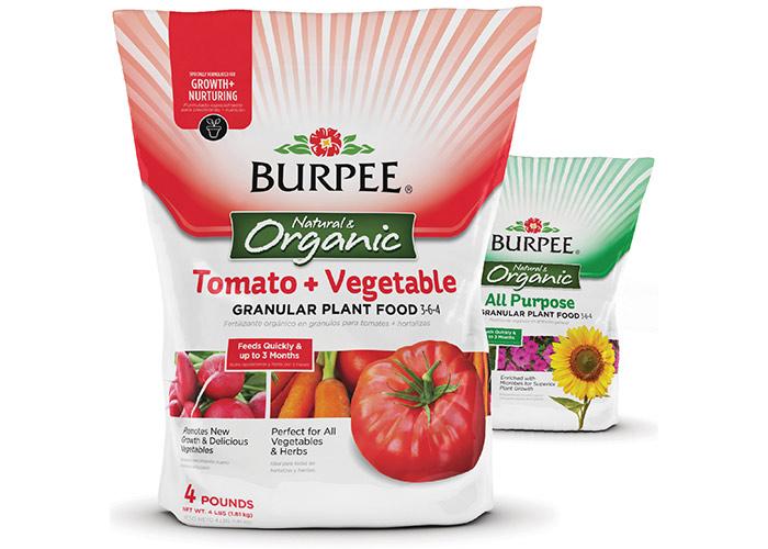 Burpee® Organic Plant Foods by Brian Schultz Design