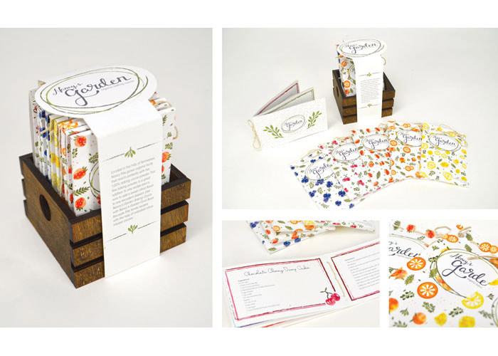 Nancy's Garden: Organic Baking Cocoa by Auburn University, School of Industrial + Graphic Design