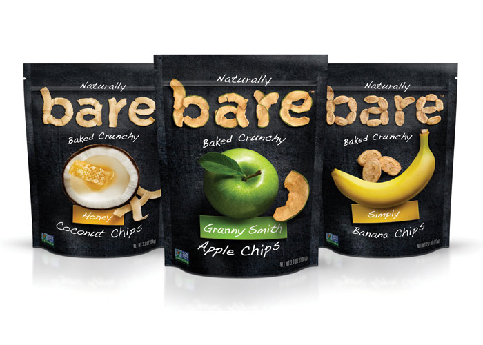 Bare Snacks Packaging by Sterling Brands