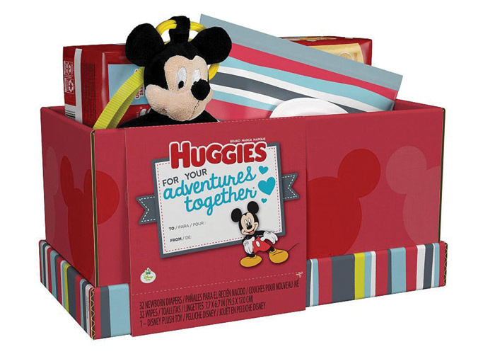 Huggies Gift Boxes by Sterling Brands